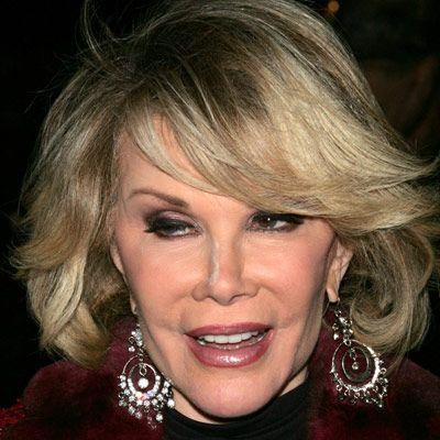 Joan Rivers botoks yaptırıp, yanaklarını doldurdu.